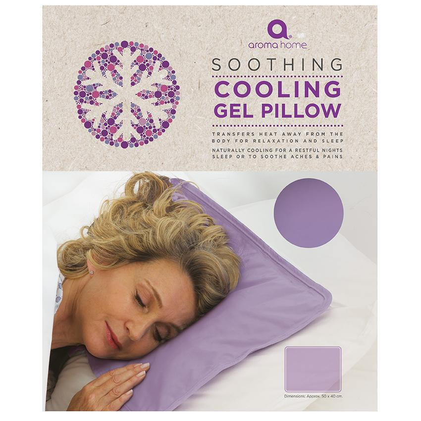 Therapeutic Lavender Cooling Gel Pillow