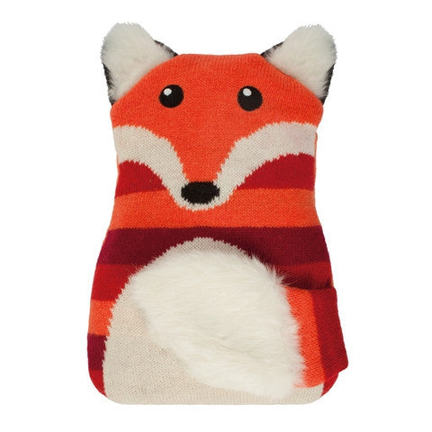 Knitted Fox Microwave Hottie