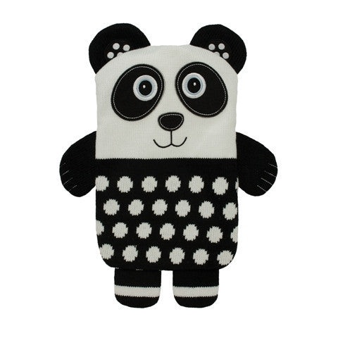 Knitted Panda Microwave Hottie