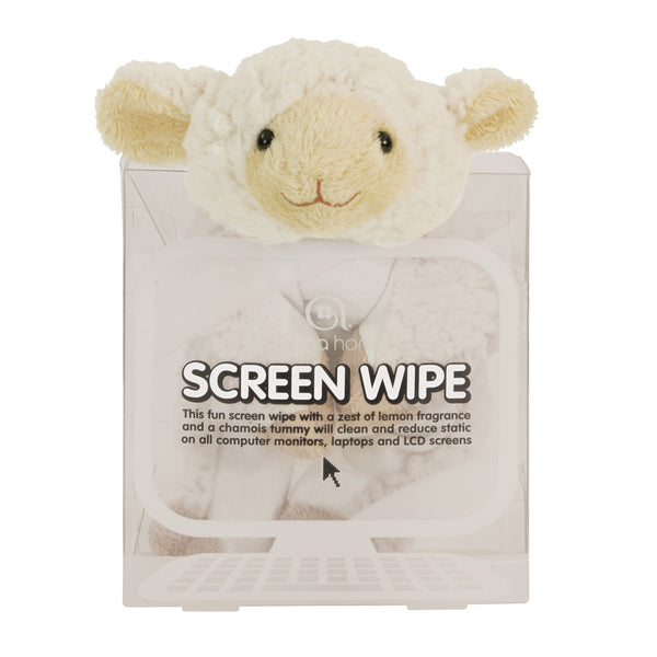 Lamb Novelty Screen Wipe