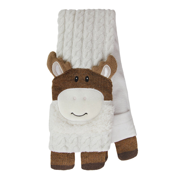 Knitted Moose Microwave Body Wrap
