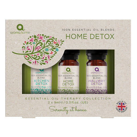 Essential Oils Home 'Detox' Dropper Set