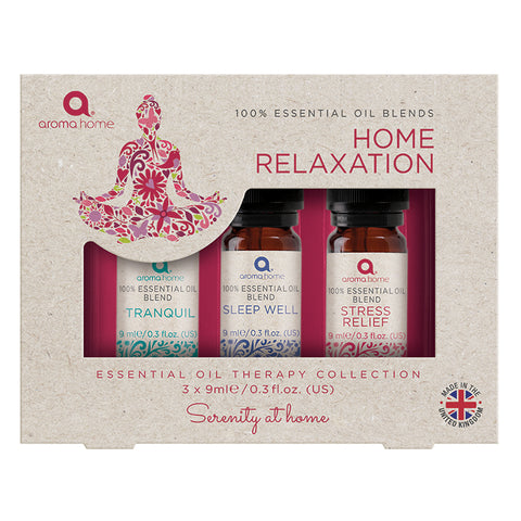 Essential Oils Home 'Relaxation' Dropper Set