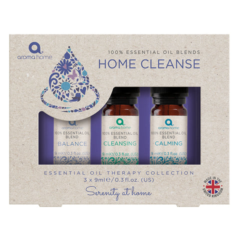 Essential Oils Home 'Cleanse' Dropper Set