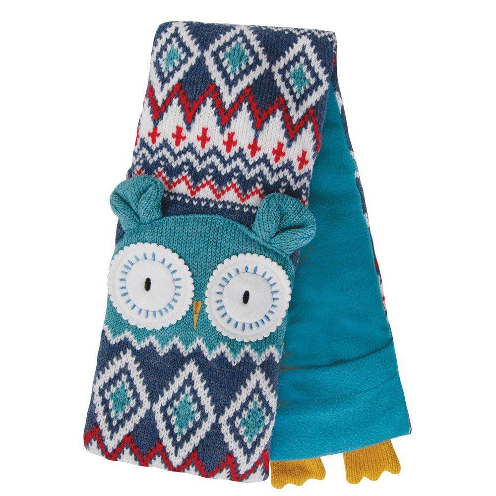 Knitted Owl Microwave Body Wrap