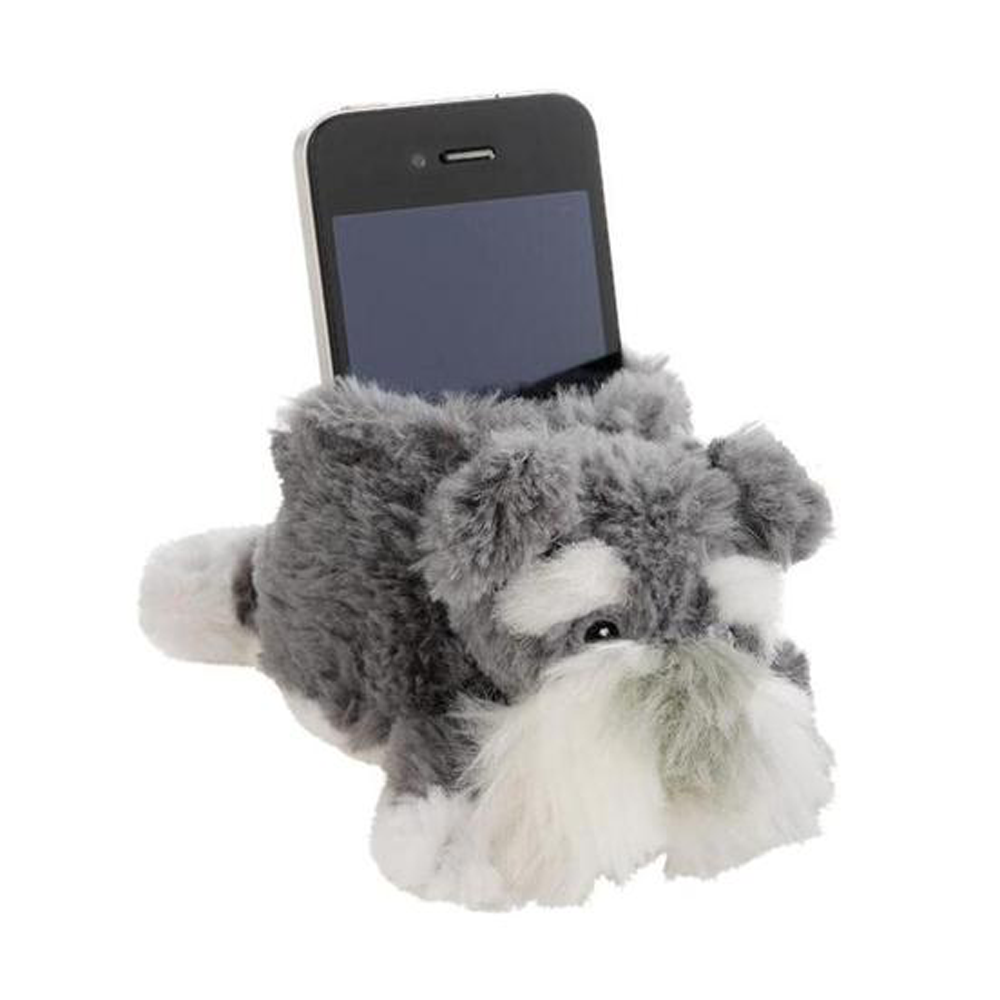 Schnauzer Novelty Phone Holder