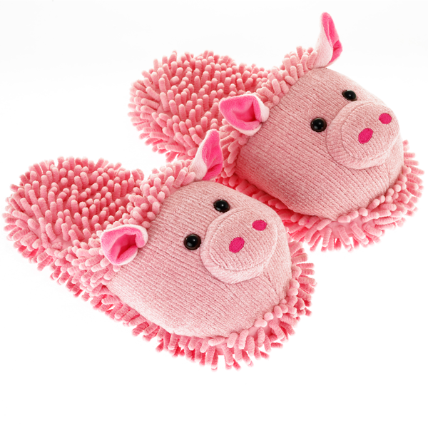 Pig Fuzzy Friends Slippers