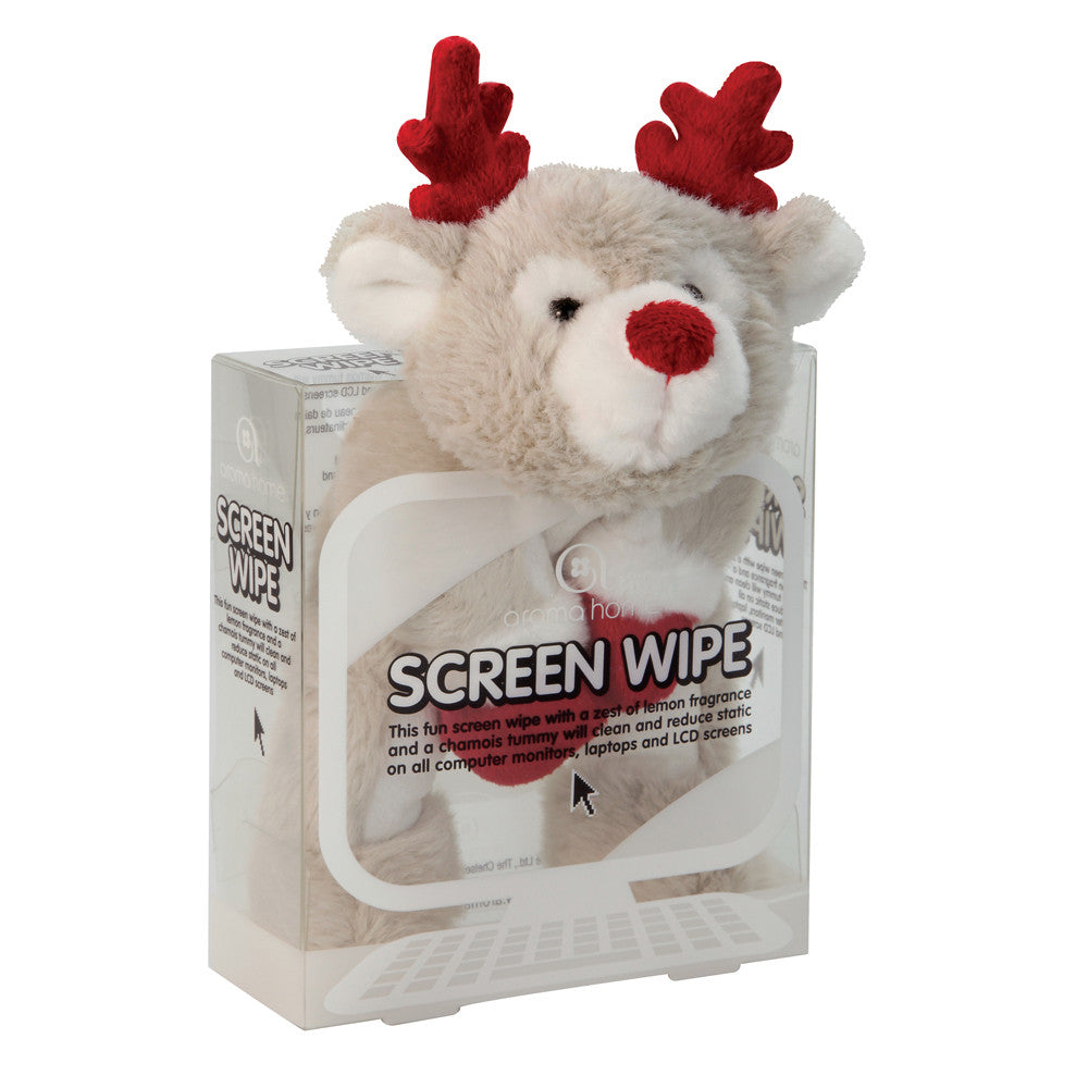 Reindeer Novelty Screen Wipe