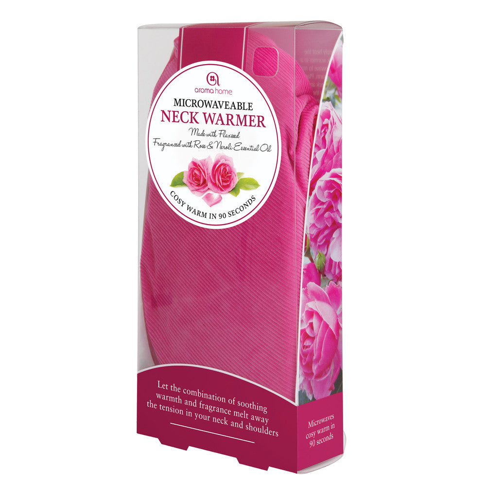 Rose & Neroli Scented Cord Microwave Neck Warmer