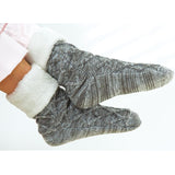 Inspired by Nature Grey Slipper Socks