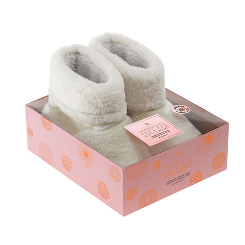 Faux Fur Cream Slippers