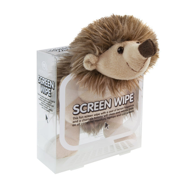 Hedgehog Novelty Screen Wipe