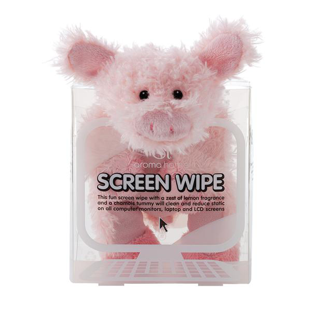 Pig Novelty Screen Wipe