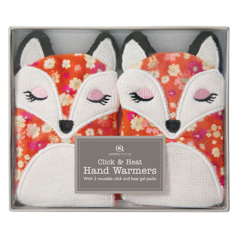 Knitted Fox Handwarmer