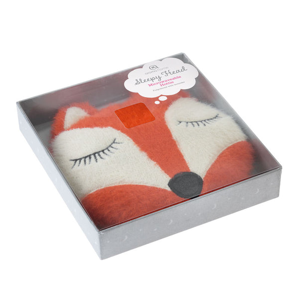 Fox Knitted Sleepy Head Hottie