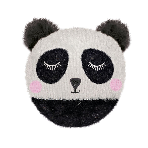 Panda Knitted Sleepy Head Hottie