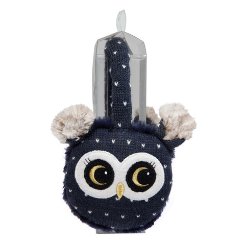 Knitted Owl Cosy Ears