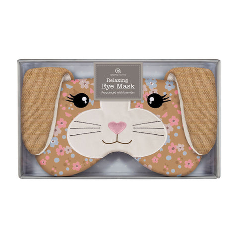Bunny Knitted Eye Mask