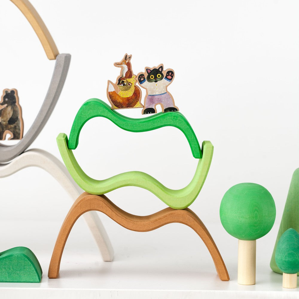 Raduga Grëz Mountains Big Arch Stacker - La La Land Kids Concept Store Limburg Diepenbeek