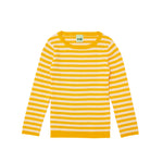 FUB Rib Striped Blouse Yellow Ecru - La La Land Kids Concept Store Limburg Diepenbeek