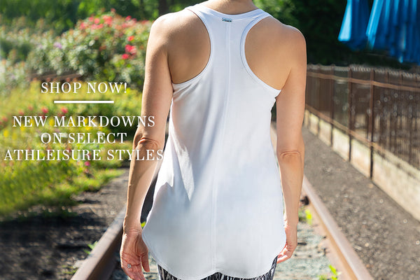 Shop Now! - New markdowns on select athleisure styles