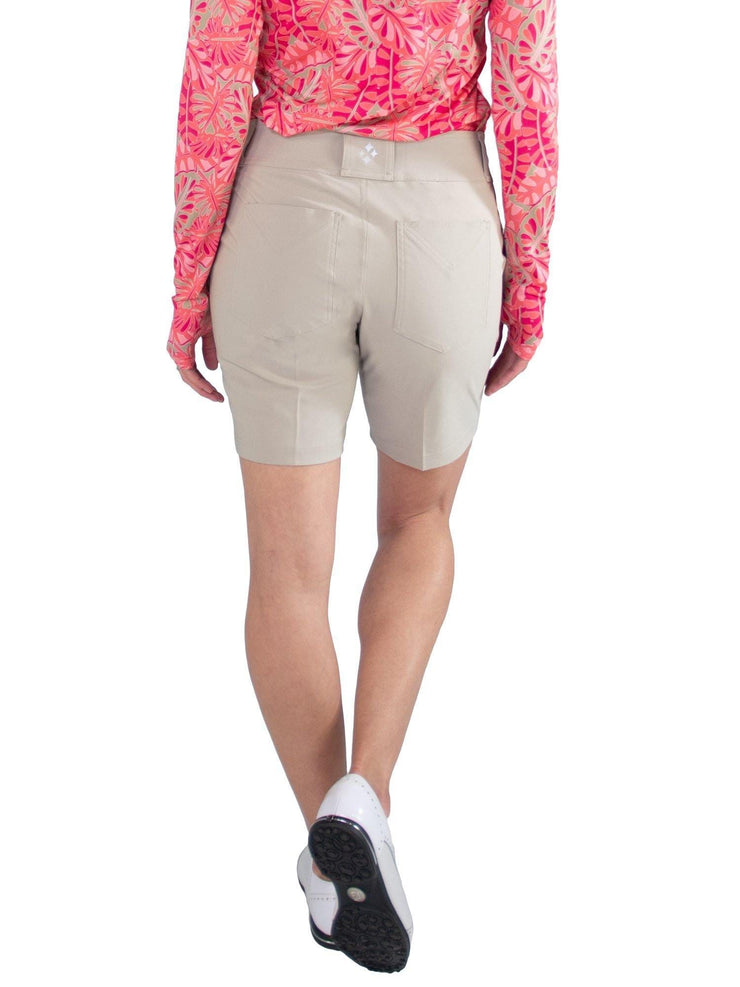 Belted Golf Shorts