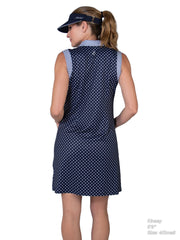 Sleeveless Inset Golf Dress CMD