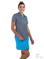 Short Sleeve Tipped Polo