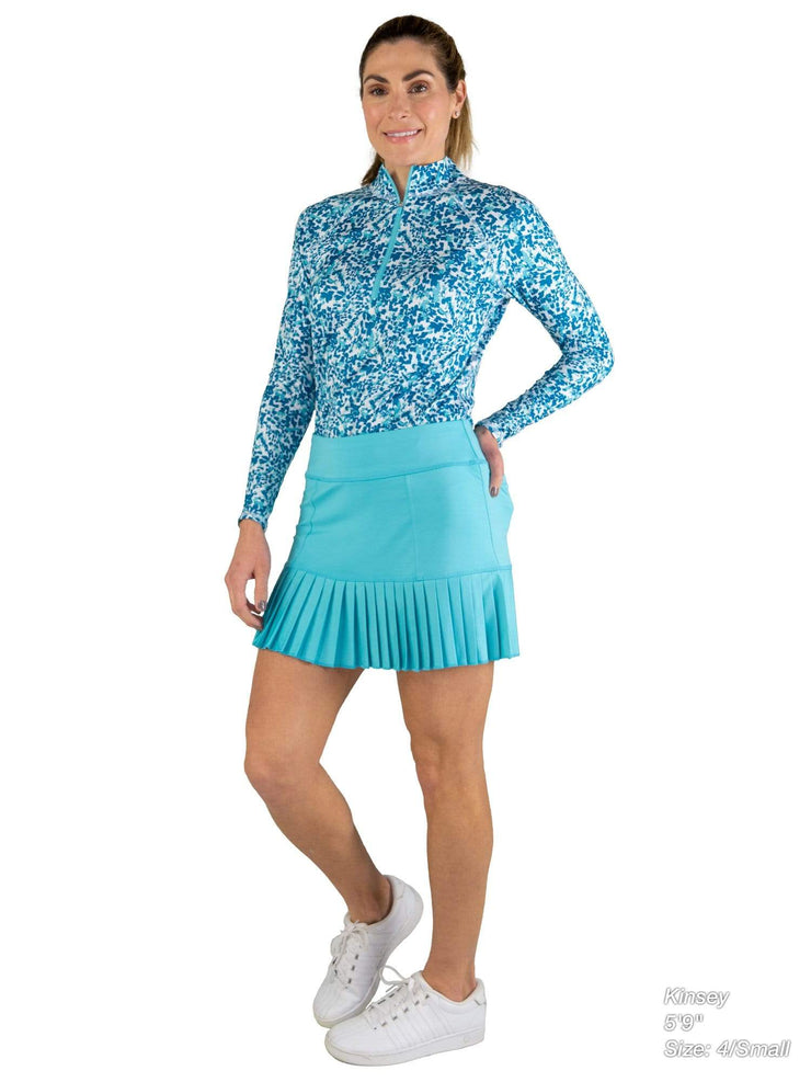Knife Pleat Skort - Short