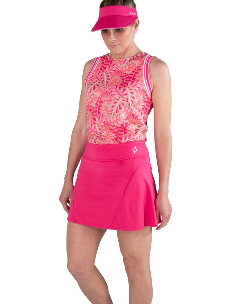 Paneled Swing Skort Short - HBS