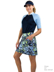 Printed Mina Skort - Long