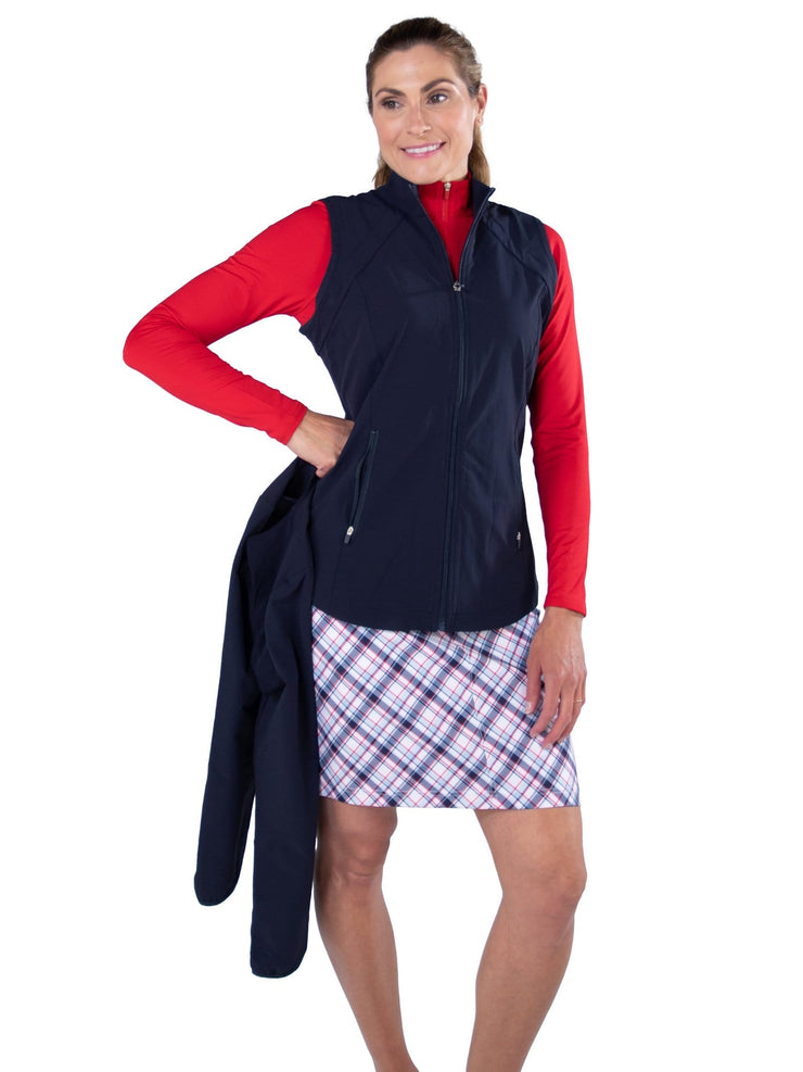 Wind Jacket with Removable Sleeves