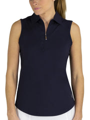 Sleeveless Polo