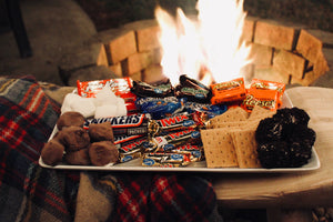 Halloween Candy S'mores Bar