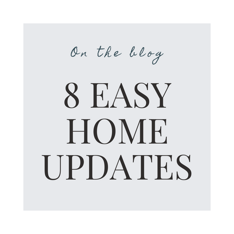 8 easy home updates