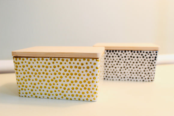 Stoneware Butter Box