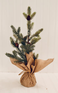 "19"" Faux Christmas Tree"
