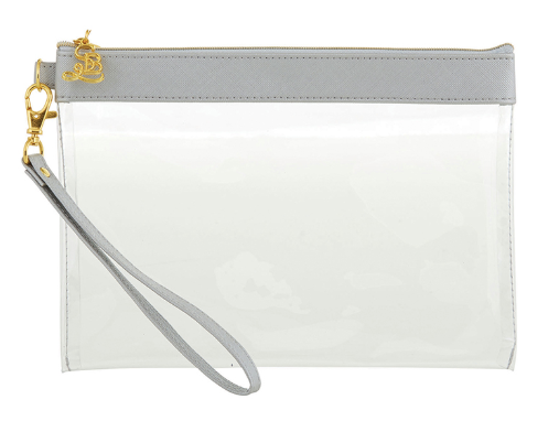 Silver+Clear Pouch