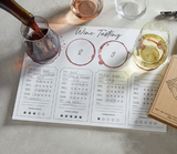 Wine Tasting Placemat