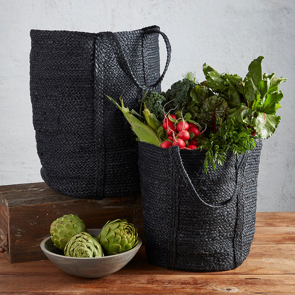 Onyx Woven Tote
