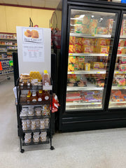 bee great display at albright's one stop