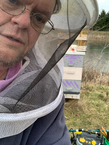 mullins treating bees for mites
