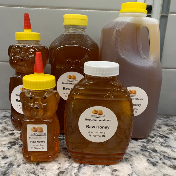 raw, unfiltered honey