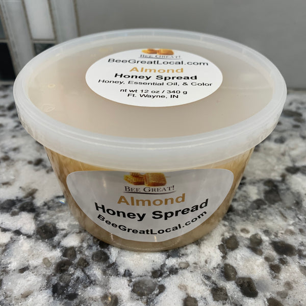 spreadable honey almond