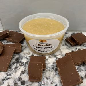 spreadable honey chocolate