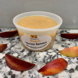 spreadable honey peach