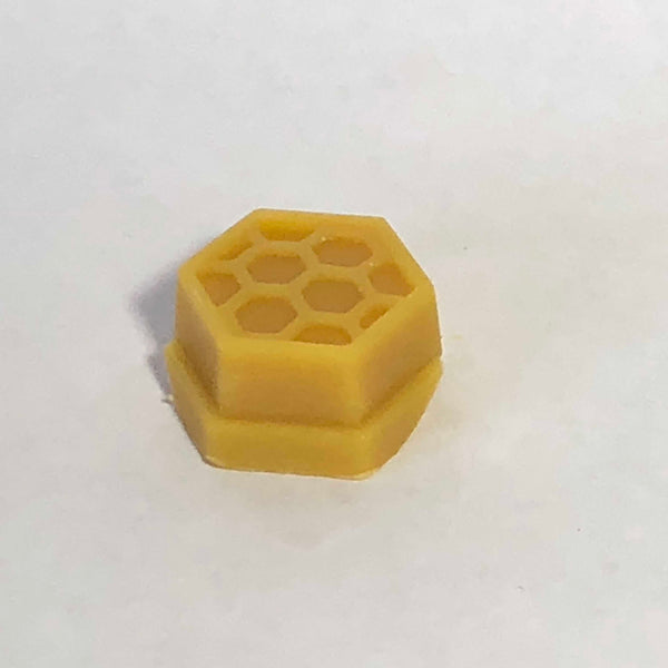 Raw beeswax for sale in single honeycomb piece