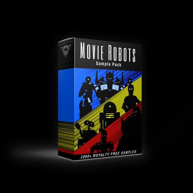 Movie Robots Sample Pack (1000+ Sounds)