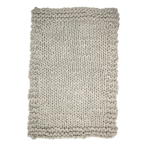 Luxury Chunky Knit Blanket