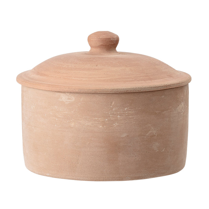 Terracotta Pot w/Lid